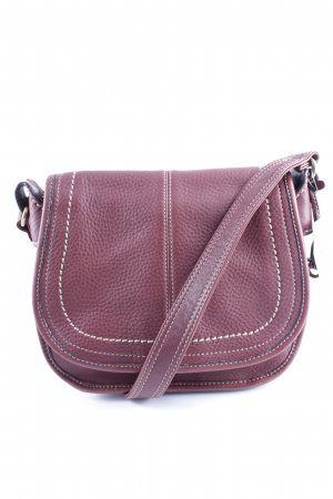Fossil Shoulder Bag blackberry-red-brown violet street-fashion look