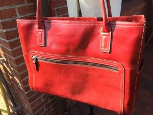 FOSSIL SCHULTERTASCHE ROT