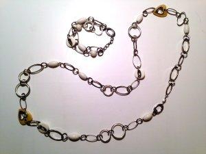Fossil Set Halskette & Armband