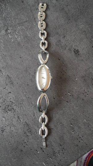 Fossil Horloge met metalen riempje zilver Edelstaal