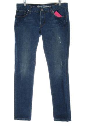 Fossil Skinny Jeans blau Casual-Look
