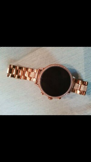 Fossil Montre analogue or rose