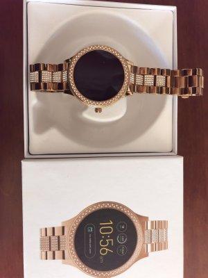 Fossil Smartwatch Q Venture 3, roségold, kaum genutzt