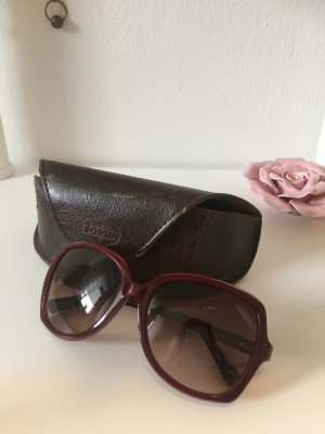 Fossil Retro Glasses brown red-brown
