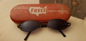 Fossil Bril donkerblauw