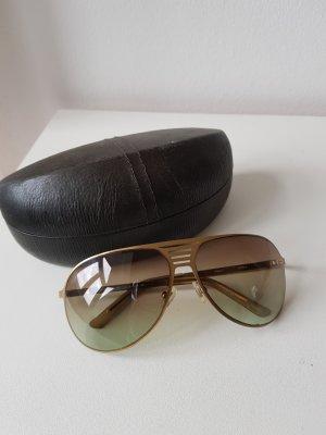 Fossil Sonnenbrille in matt gold inkl. Ledercase