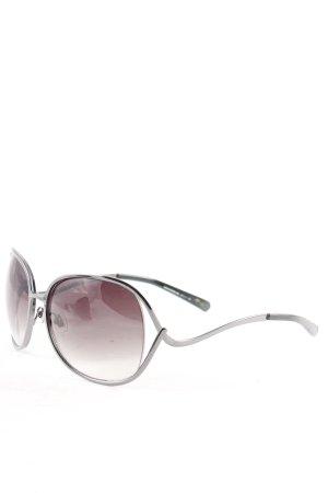 Fossil Sunglasses black-silver-colored elegant
