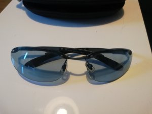 Fossil Oval Sunglasses slate-gray