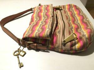 Fossil Tasche im Ethno Stil *einmal getragen*
