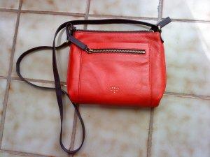 Fossil Tasche * Ledertasche * tolles rot * TOP * ein Traum