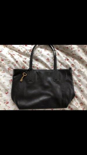 Fossil Tasche Schwarz Leder
