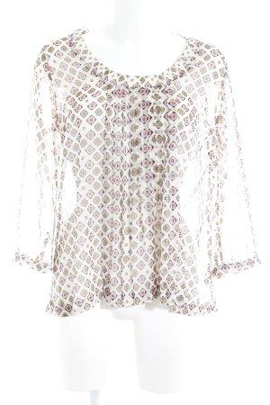 Fossil Transparenz-Bluse mehrfarbig Street-Fashion-Look