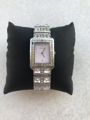 Fossil Analoog horloge zilver