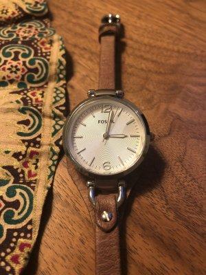 Fossil Uhr // Armbanduhr Leder