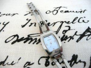 Fossil Uhr Armbanduhr silber