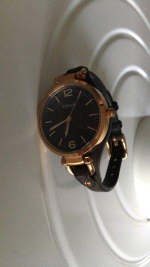 Fossil Uhr aus Leder