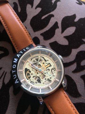 Fossil Uhr Boyfriend Hellbraun Analog Leder