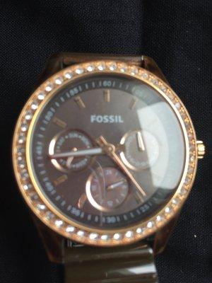 Fossil  Uhr Damen Bronze Braun