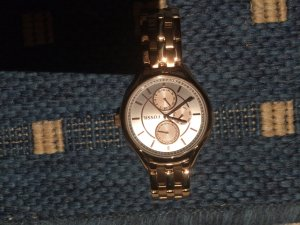 Fossil Uhr Damen RotGold