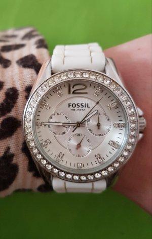 fossil uhr ES-2344 in weiß