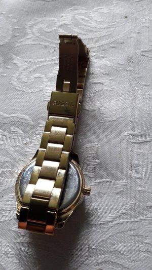 Fossil Uhr farbe gold,wenig getragen,daher Neuwertig