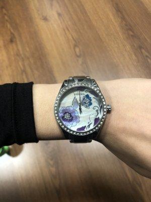 FOSSIL Uhr für Damen mit Strass-Steinen rundum!