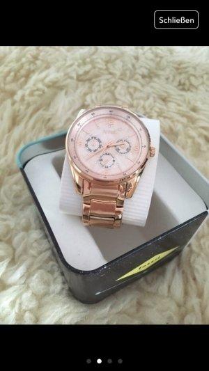 Fossil Uhr Gold rosa Rose Blogger Accessoires Schmuck Armbanduhr Fashion lover
