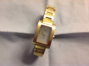 "Fossil Uhr Gold ""Stainless Steel"""