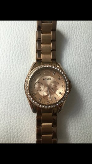 Fossil Uhr in Rosegold