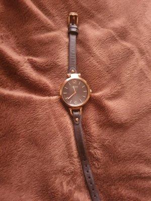 Fossil Uhr Leder