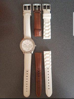 fossil Uhr mit Ersatzbändern