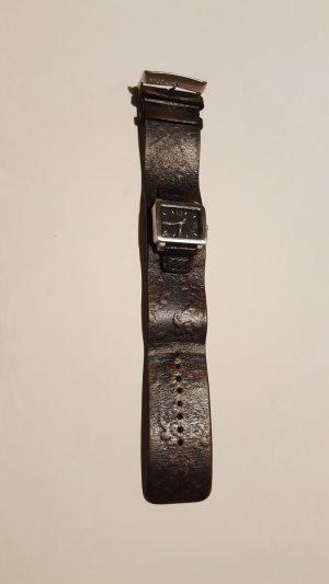 Fossil    Uhr mit Lederarmband