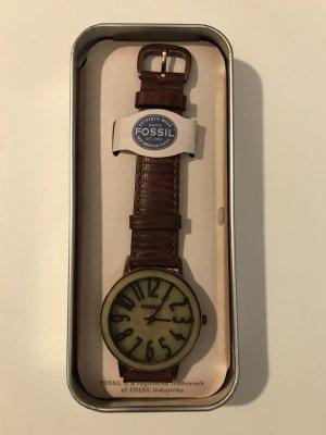 Fossil Uhr mit Lederarmband BW 6739 NEU
