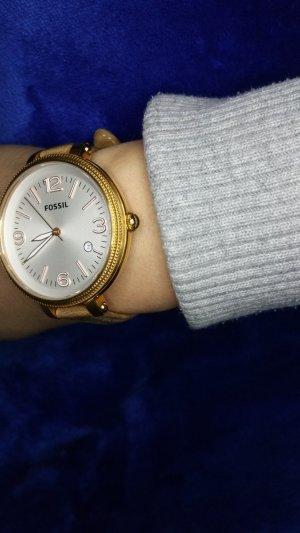 Fossil Uhr mit Lederband