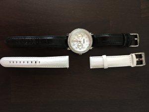 Fossil Uhr mit zwei Armbändern