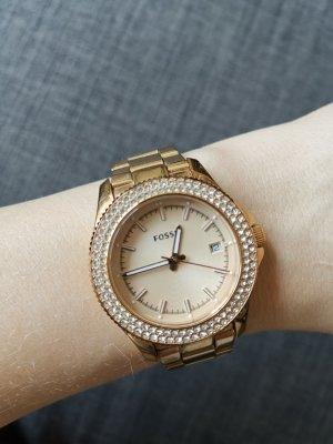 fossil Uhr rosegold