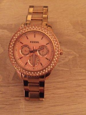 Fossil Uhr rosegold wie neu!