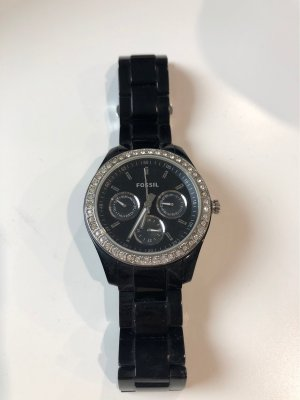 Fossil Digital Watch black-silver-colored