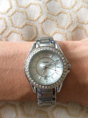 Fossil Uhr Silber