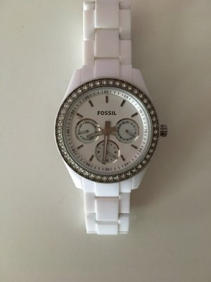 Fossil Analog Watch white