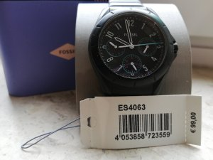 Fossil Analog Watch black