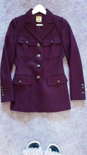 Fossil Wool Jacket dark red