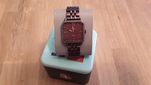 Fossil Watch With Metal Strap bordeaux metal