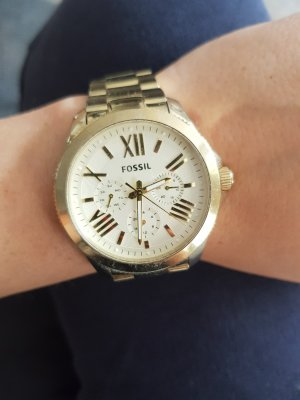 Fossil Analog Watch gold-colored