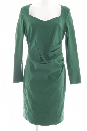 Four flavor Pencil Dress green business style