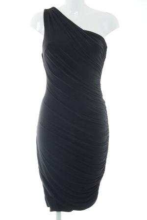Four flavor One-Shoulder-Kleid schwarz Party-Look