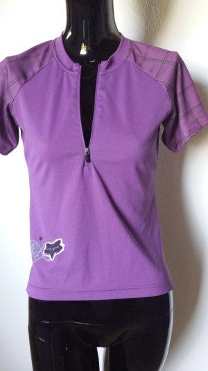 Fox Sportshirt violet Polyester