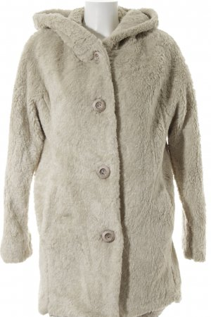 Fox Kapuzenjacke hellbeige Casual-Look