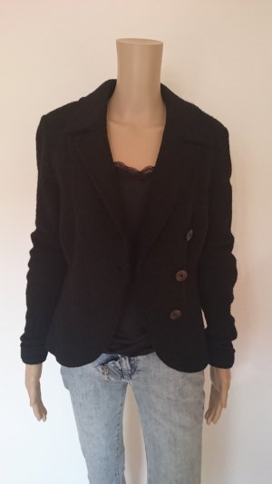 FOX'S Wool Blazer black wool