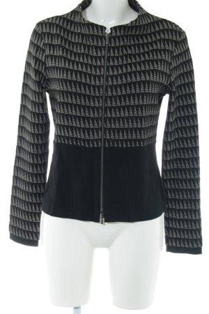 FOX'S Sweat Jacket black allover print casual look